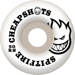 Spitfire Cheapshot Skateboard Wheels - White